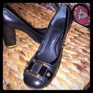 Tory Burch size 9 block heels.